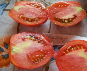 Помидоры Банан красный: описание сорта, фото