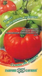 Помидоры Бабушкино лукошко: описание сорта, фото